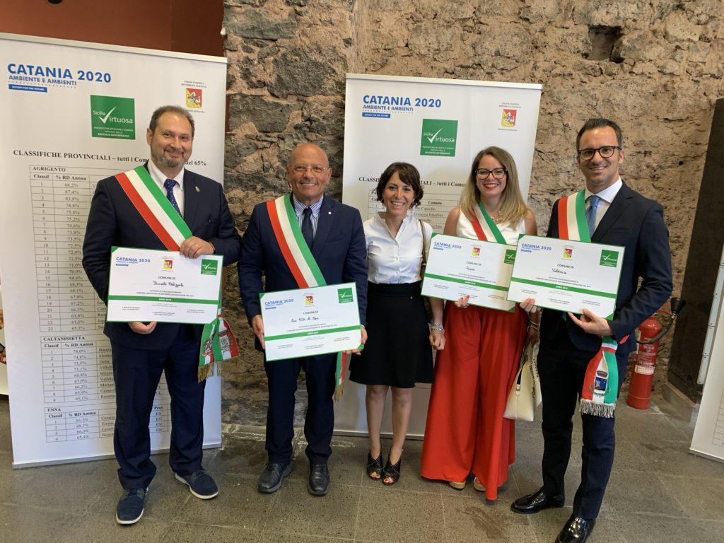Comune di Paceco premiato tra i 133 Comuni Virtuosi Siciliani