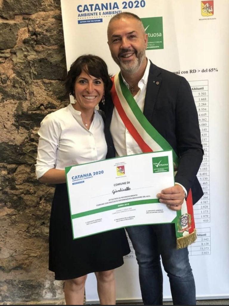 Comune di Giardinello premiato tra i 133 Comuni Virtuosi Siciliani