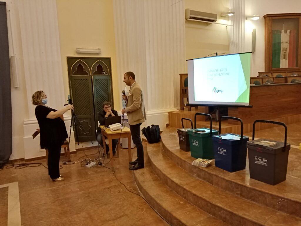 Nuovo servizio di raccolta dei rifiuti: Agesp incontra le utenze presso l'Aula Consiliare