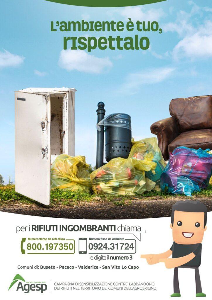 Campagna di sensibilizzazione contro l'abbandono dei rifiuti