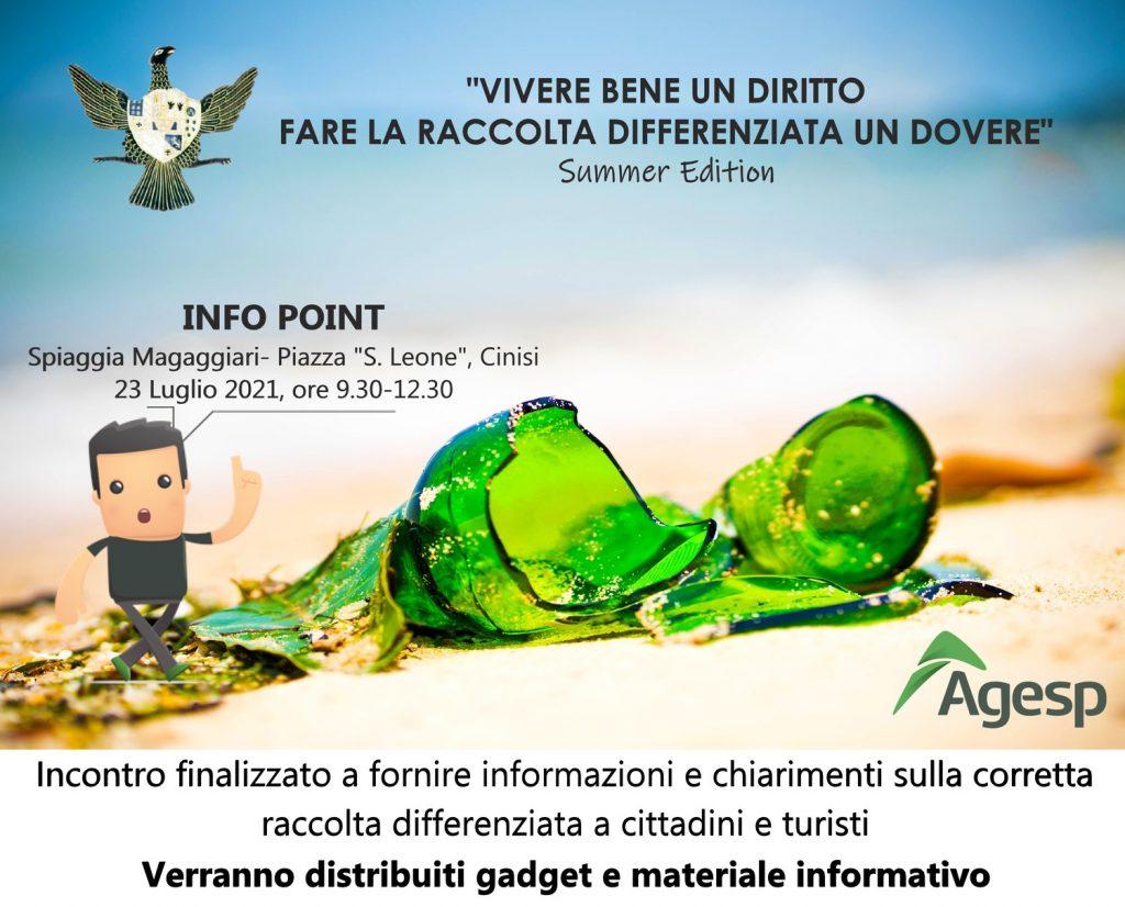 Infopoint per Campagna di sensibilizzazione